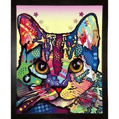 "Frame USA Maya Cat Framed Print 10""x8"" by Dean Russo"