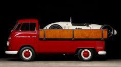Vintage Formula Vee Car And VW Carrier Will Make Your Desire Gland Pop