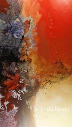 Linda Kemp - on mylar Watercolor Negative Painting, Abstract Watercolor, Watercolor Paintings, Picasso Paintings, Nature Paintings, Landscape Paintings, Negative Space Art, Autumn Art, Lovers Art
