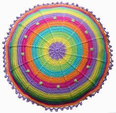 Elealinda-Design: Crochet pillow Sansara No. 2