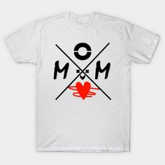 Mom red heart, mom love, funny mom, mothers day - T Shrit - T-Shirt | TeePublic Mom Of Boys Shirt, Boys Shirts, Shirt Shop, T Shirt, Mom Humor, Mothers, Heart, Funny, Red