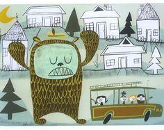 I enjoy Matte Stephens' illustrations.
