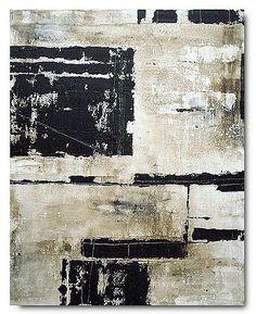 Monaco - 40x30. acrylic mixed media, canvas, custom made artwork.  www.elstonart.com  #brian_elston #art #painting #abstract #black_and_white