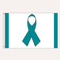 Teal Ribbon Flag - does anyone have a good teal flag (small or large)?