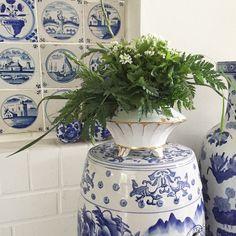 Terrine als Blumen Vase