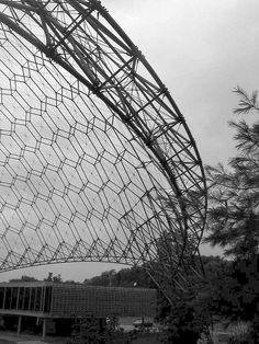 Asm Geodesic Dome In Ohio Was Designed By Tc Howard Of