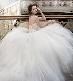 Bling and tulle Lazaro wedding dress. Bling and tulle. Tag says size Fits more like a size Tulle shorter in the front & longer in the back. Lazaro Wedding Dress, Lazaro Bridal, Tulle Wedding, Bridal Gowns, Wedding Gowns, Wedding Bride, Lazaro Dresses, Wedding Bells, Bride Groom