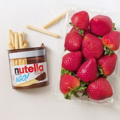 Nutella & GO! can barely contain itself!
