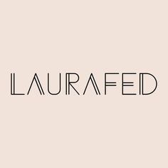 WWW:LAURAFED:COM #logo #fashion #bag #accessory #clutch