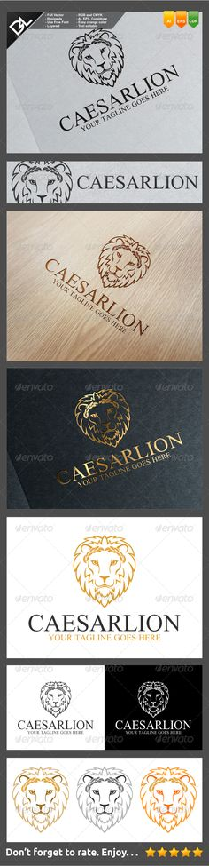 Caesar Lion - Animals Logo Templates