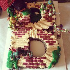 Ninja turtles birthday cake By Twiggs n' Berries Bake Shoppe