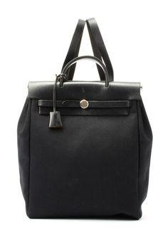 b8142ebb2e61 Vintage Hermes Cotton Herbag Backpack on HauteLook