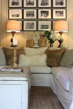 Favorite Room Feature: My Sweet Savannah. sadie + stella  Lamps and candle stick