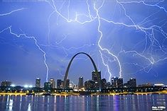St. Louis City and Gateway Arch Photography