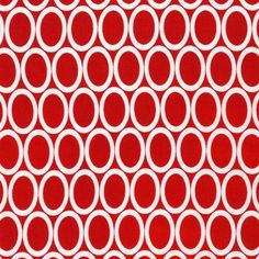 Red Ovals Remix From Robert Kaufman by StitchStashDiva on Etsy