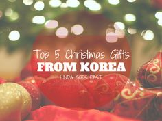 Top 5 #Christmas Gift Ideas from #Korea