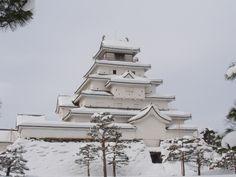 Tsuruga-castle fukushima JAPAN