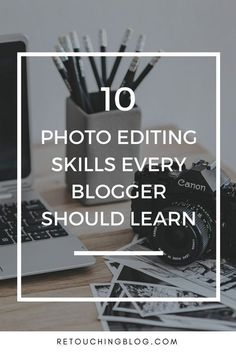 Looking for some photo editing tips for beginners? In this post, I will cover 10 essential photo editing skills + some photoshop tips, and lightroom tips to help you edit your blog photos. These tips can be applied to multiple photo editing software plus photo editing software.   Retouching Blog #lightroom #lightroompresets #photoediting #photographytips