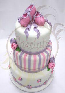 Caketutes Cake Designer: Festa Bailarina
