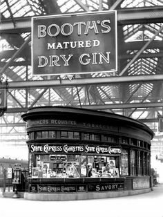A look back in time at Glasgow Central station