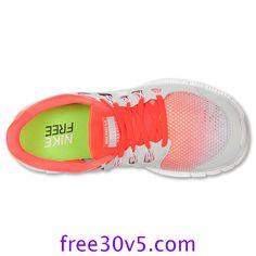 Half Off Nike Free Wholesale,Nike Free 5.0 Mens Total Crimson White Pure Platinum 579960 810 - Click Image to Close