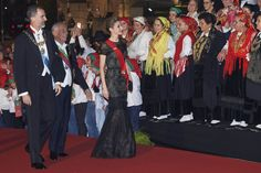King Felipe and Queen Letizia Visit Portugal – Day 1 (State Dinner)