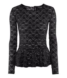 H & M, this black gave me an idea ... Let give it a try