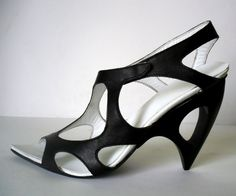 zaha hadid inpsired shoes  by Antonin Simon  czech rep.