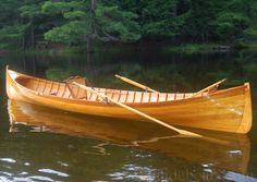 Construction of an Adirondack Guideboat Wooden Boats For Sale, Wood Boats, Kayak Boats, Canoe And Kayak, Canoes, Wooden Canoe, Wooden Boat Plans, Woodworking Canoe, Boating Holidays