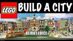 beirut Lego Bed, Lego Display, Display Ideas, Lego Winter, Lego Kits, Lego Videos, Lego City Sets, Lego Trains, Lego Friends