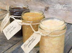 6x recept na skvělá jablečná a hrušková povidla | Kreativní Techniky Marmalade, Preserves, Pickles, Food And Drink, Sugar, Canning, Recipes, Smoothie, Foods