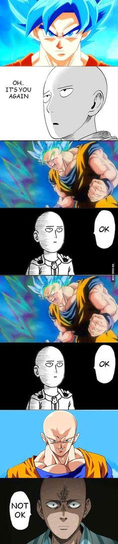 Super Saiyan K(thousand), NOT OK