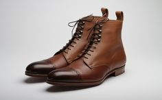 Boot in Burnt Pine by Grenson (0006-235)
