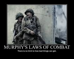 Humor Discover Murphy& law of combat - Military humor Military Jokes Military Rule Gi Joe Murphy Law Funny Memes Hilarious Funny Shit Funny Stuff Funny Quotes Military Rule, Military Jokes, Gi Joe, Murphy Law, Funny Memes, Hilarious, Funny Shit, Funny Stuff, Truck Memes