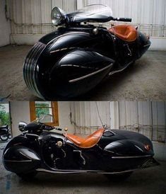 "steampunktendencies: ""1930 Art Deco Henderson motorcycle. """