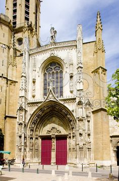 The Saint Sauveur Cathedral in Aix en Provence, France