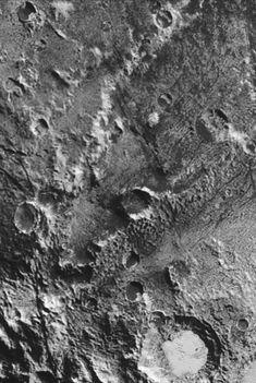 Close up of Pluto