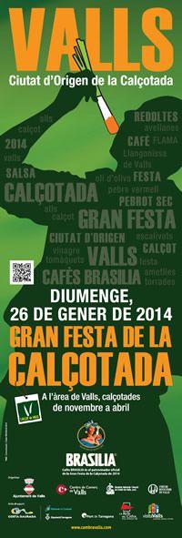 Festa de la Calçotada a Valls (gener 2014)