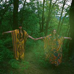 Amilita the label: Scandinavian Duo First Aid Kit | folk | band | gypsy | bohemian | free spirits | woodlands | nature