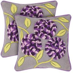 I pinned this Leah Pillow - Set of 2 from the Rizzy Home event at Joss and Main!