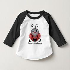 Mommy's Little Ladybug girl's toddler t-shirt