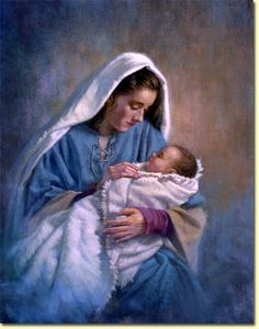 'Mary and Baby Jesus' by Corbert Gauthier