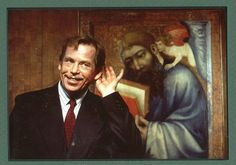 Vaclav Havel Us Images, National Museum, Czech Republic, Prague, Ikon, Presidents, Personality, Celebs, Silhouette