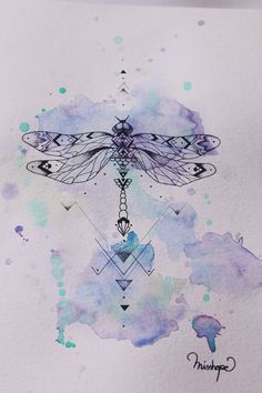 My Modernist Dragonfly on Behance