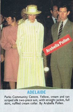 April 5, 1983: Prince Charles & Princess Diana at Parks Community Centre in Adelaide, Australia.