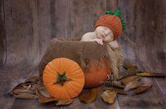Pumpkin Hat Pumpkin Hat for Babies Crochet by SweetnessInSmyrna
