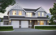 The Brookhaven Two storey Home Builders - Oswald Homes Hamptons Style Homes, Hamptons House, Exterior House Colors, Exterior Design, Charleston Homes, Two Storey House, Storey Homes, Facade House, House Exteriors