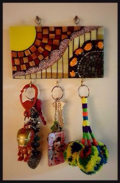 Mosaic Art, Mosaic Glass, Mosaic Madness, North Carolina Homes, Mosaic Projects, Small Gifts, Online Art Gallery, Plant Hanger, Pottery