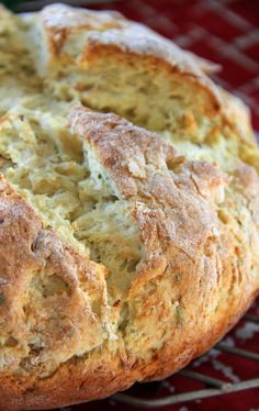 Irish Potato Bread - quick bread, no yeast - crunchy-on-the-outside-soft-on-the-inside potato bread to remind me of Ireland.