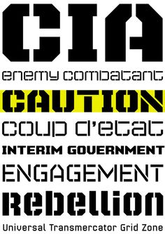 Super Duty font specimen designed by James Grieshaber of Typeco.